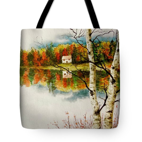 Fall Splendour Tote Bag