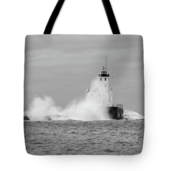Tote Bag featuring the photograph Fall Storm II by Paul Schultz