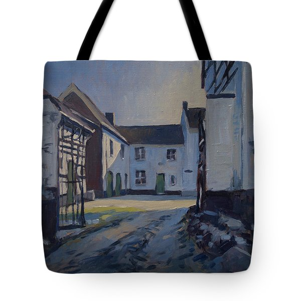 Fall Sumbeam Over The Woskoul Tote Bag