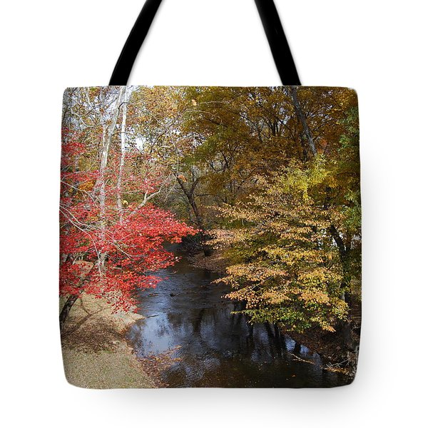 Tote Bag featuring the photograph Fall Transition by Eric Liller