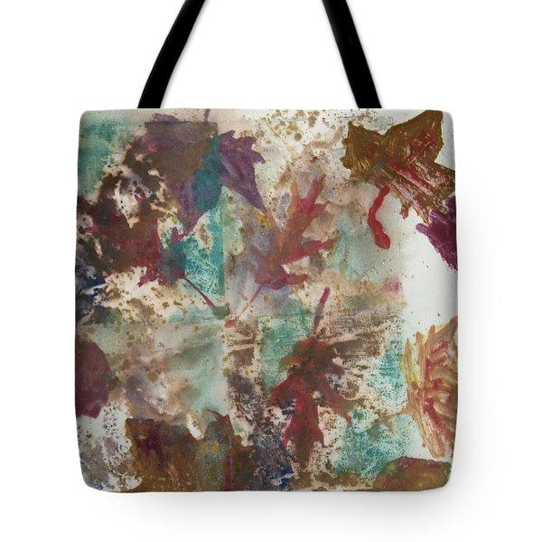 Fall Treasures Tote Bag by Claudia Smaletz