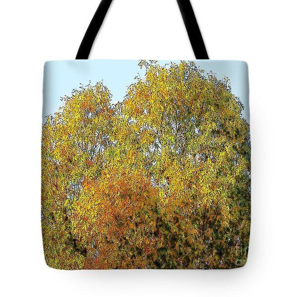 Fall Tree Tote Bag by Craig Walters