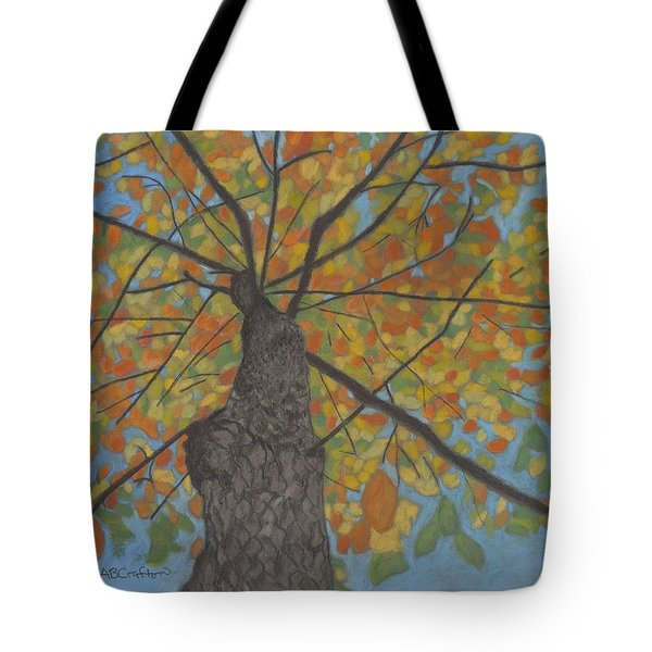 Fall Up Tote Bag