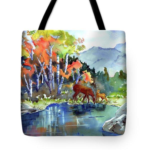 Fall, Upon Us Tote Bag