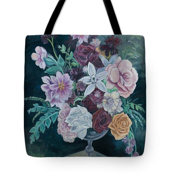 Fall Vase Tote Bag by Jana Goode