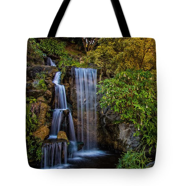 Tote Bag featuring the photograph Fall Water Fall by Harry Spitz