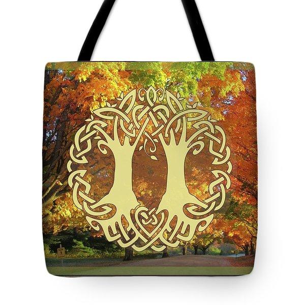 Fall Wedding Tote Bag