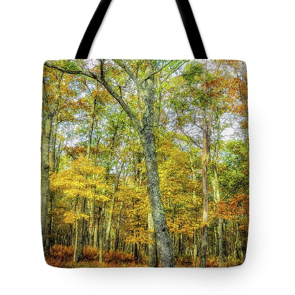 Fall Yellow Tote Bag