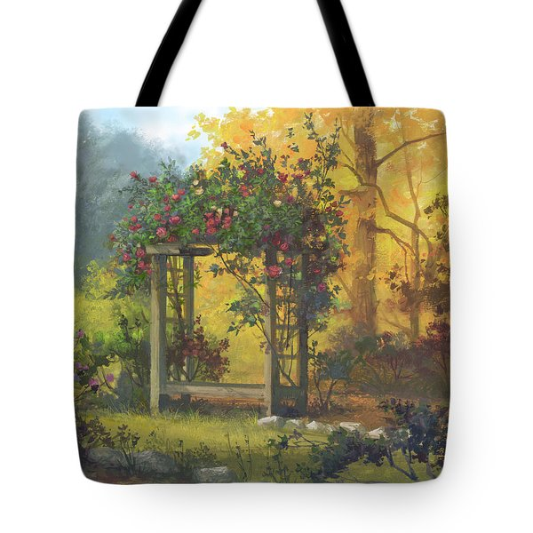 Fall Yellow Tote Bag by Michael Humphries