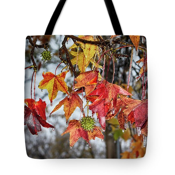 Tote Bag featuring the photograph Fall by Yvonne Emerson AKA RavenSoul