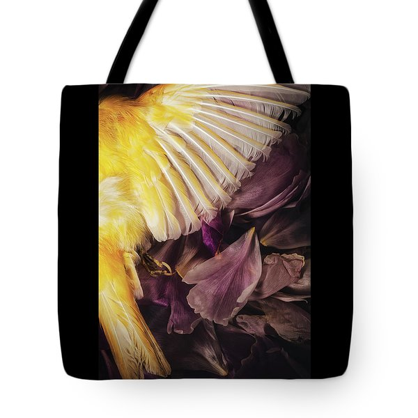 Tote Bag featuring the photograph Fallen by Amy Weiss