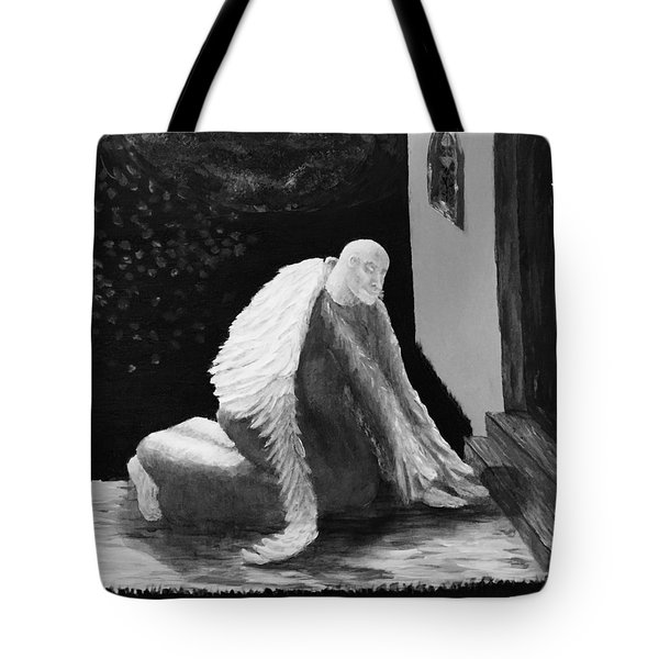 Fallen Angel Noir  Tote Bag