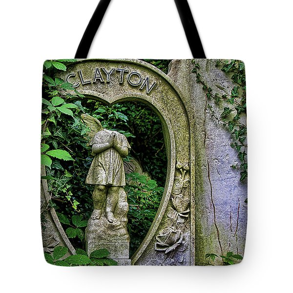 Fallen Angel Tote Bag by Oliver Kluwe