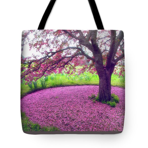 Fallen Away Tote Bag by Jessica Jenney