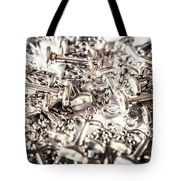 Fallen Court Of Law Tote Bag