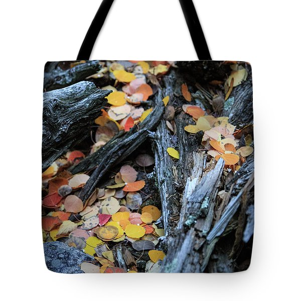 Tote Bag featuring the photograph Fallen by David Chandler