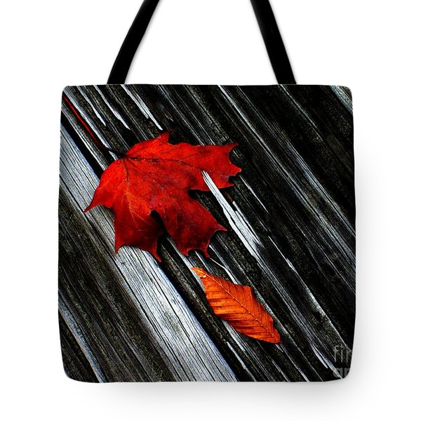 Fallen Tote Bag by Elfriede Fulda
