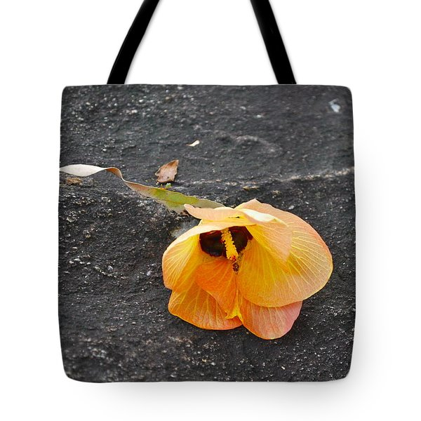 Fallen Flower Tote Bag