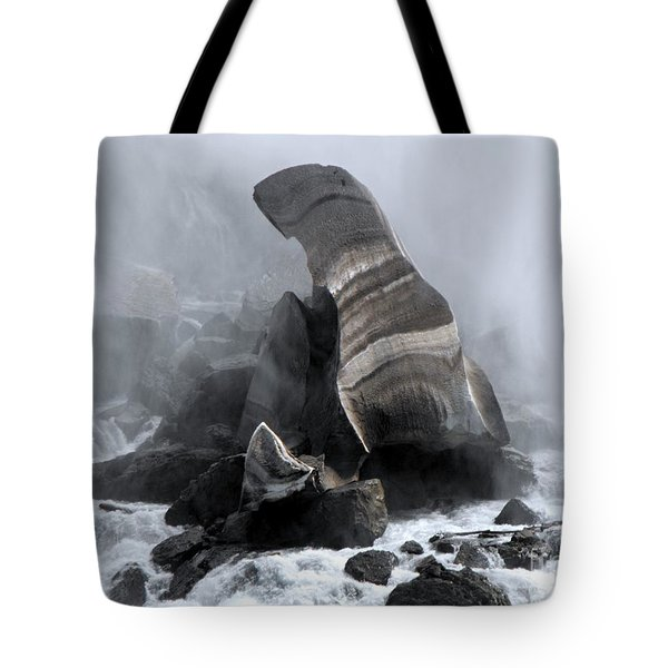 Fallen Ice Tote Bag