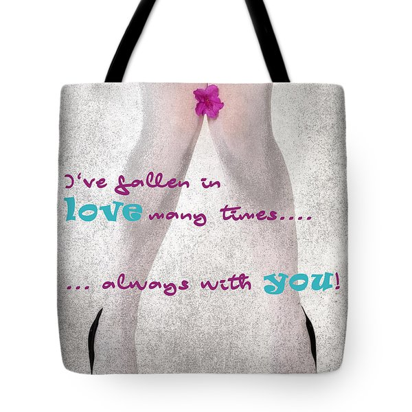 Fallen In Love Tote Bag
