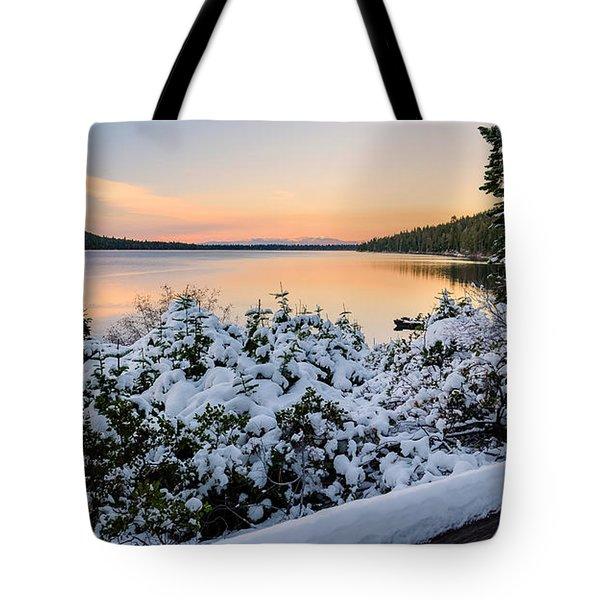 Fallen Leaf Lake Tote Bag