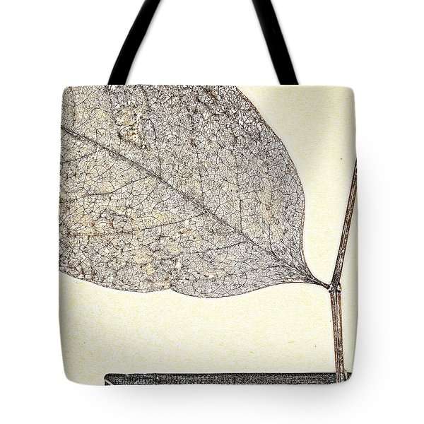 Fallen Leaf One Of Two Tote Bag