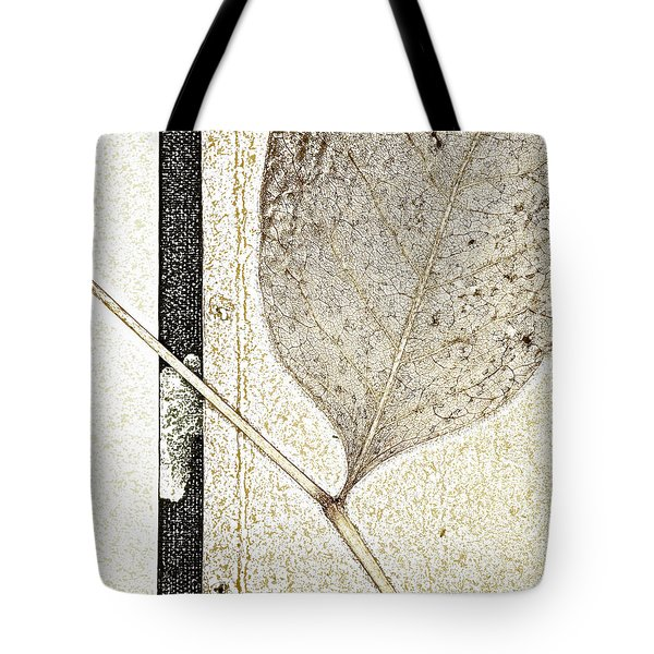 Fallen Leaf Two Of Two Tote Bag