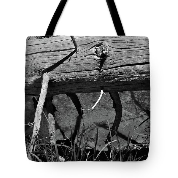 Tote Bag featuring the photograph Fallen Spruce by Ron Cline