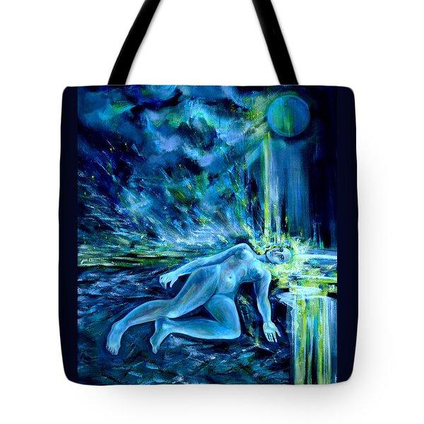 Fallen Star Tote Bag by Anna  Duyunova