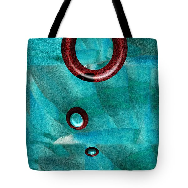 Falling Away Tote Bag