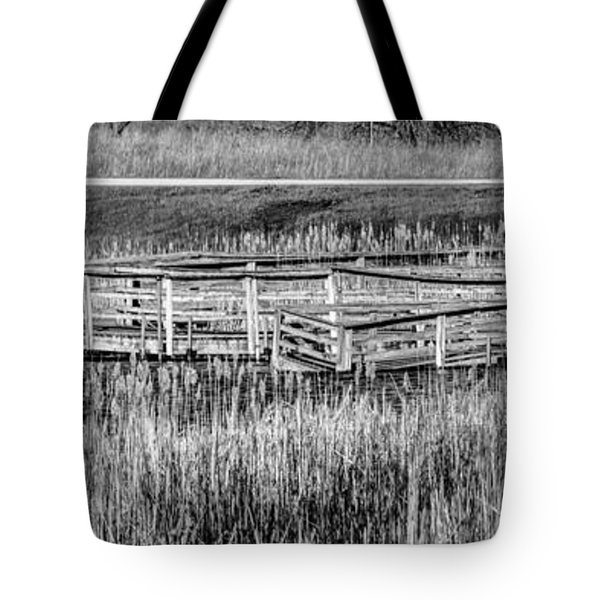 Falling But Standing Tote Bag