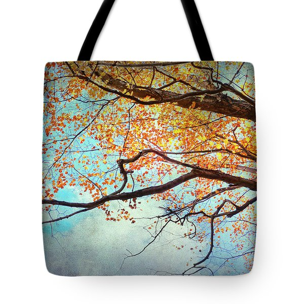 Fallen For Fall Tote Bag by Kathi Mirto