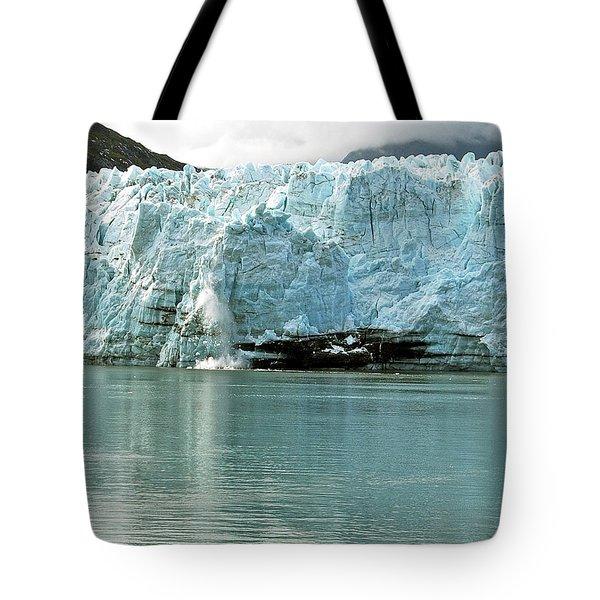 Falling Ice 8419 Tote Bag