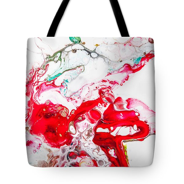Falling In Love - Abstract Painting Tote Bag