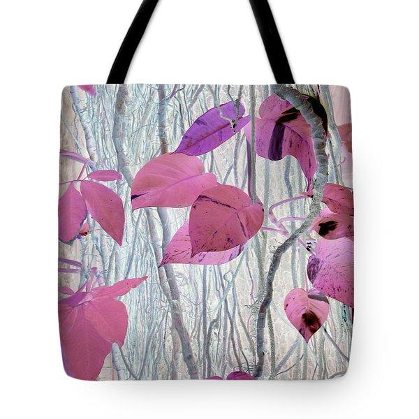 Falling In Pink Tote Bag