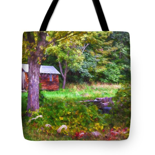 Falling Into Autumn Tote Bag