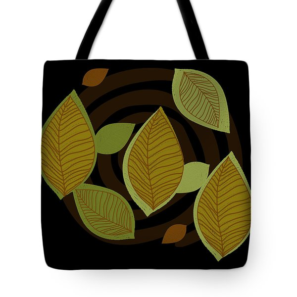 Falling Into Color Tote Bag by Kandy Hurley