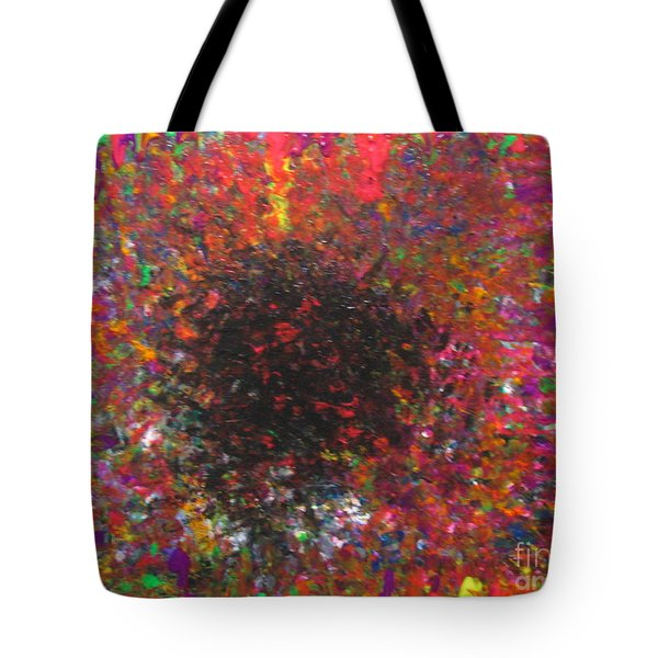 Tote Bag featuring the painting Falling by Jacqueline Athmann