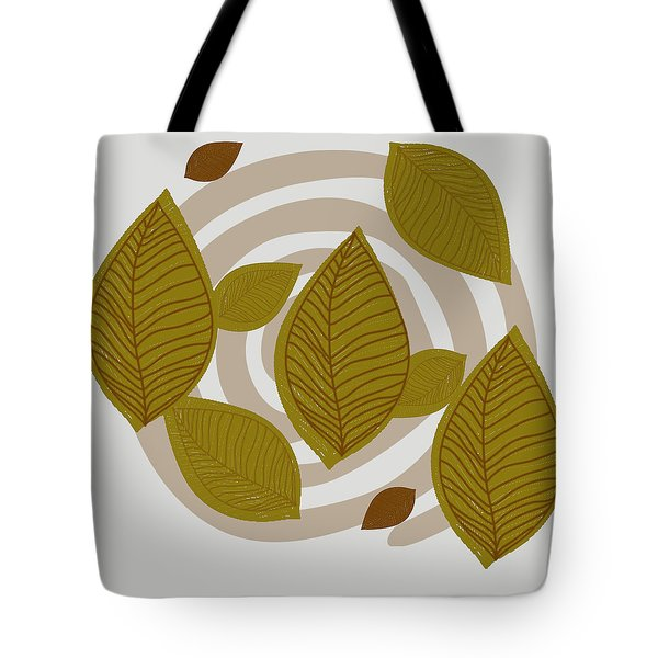 Falling Leaves Tote Bag by Kandy Hurley
