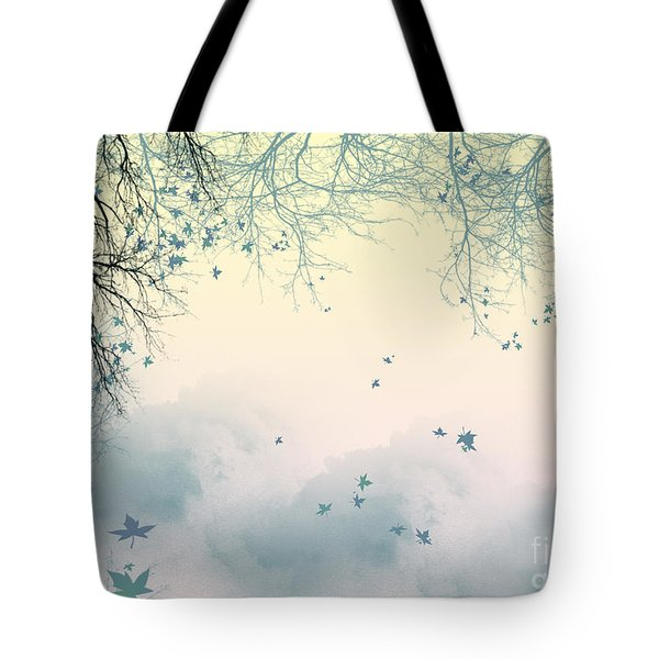 Falling Leaves Tote Bag by Trilby Cole