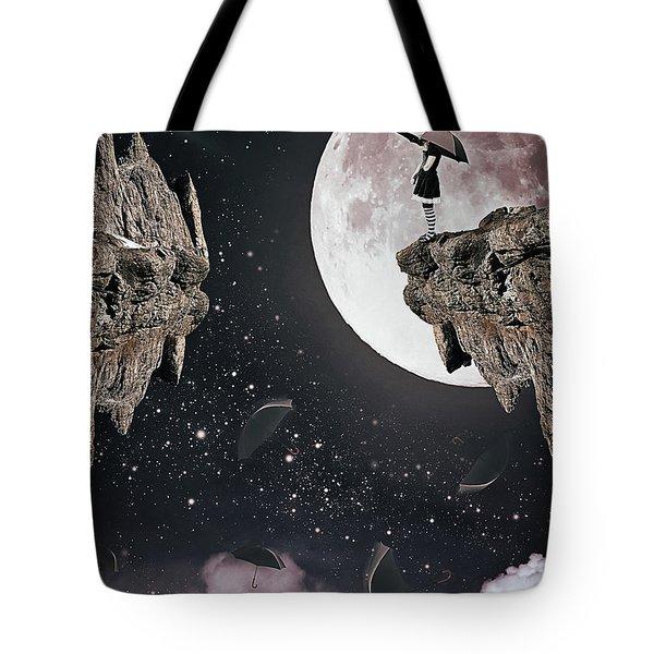 Falling Tote Bag by Mihaela Pater