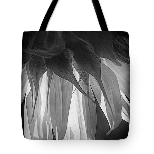 Falling Monochrome  Tote Bag