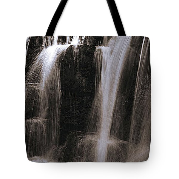 Falling Of Water Tote Bag by Thomas Bomstad