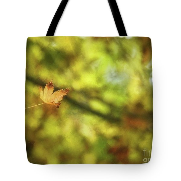 Tote Bag featuring the photograph Falling by Peggy Hughes