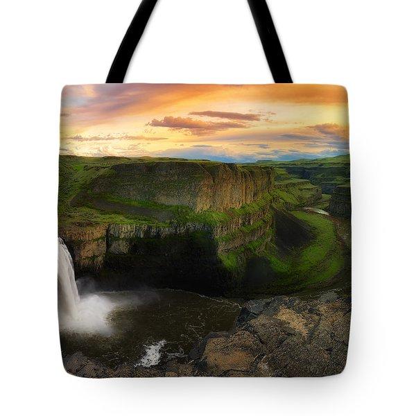 Falling Tote Bag by Ryan Manuel