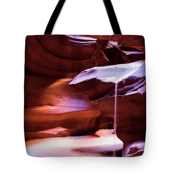 Tote Bag featuring the photograph Falling Sand by Stephen Holst