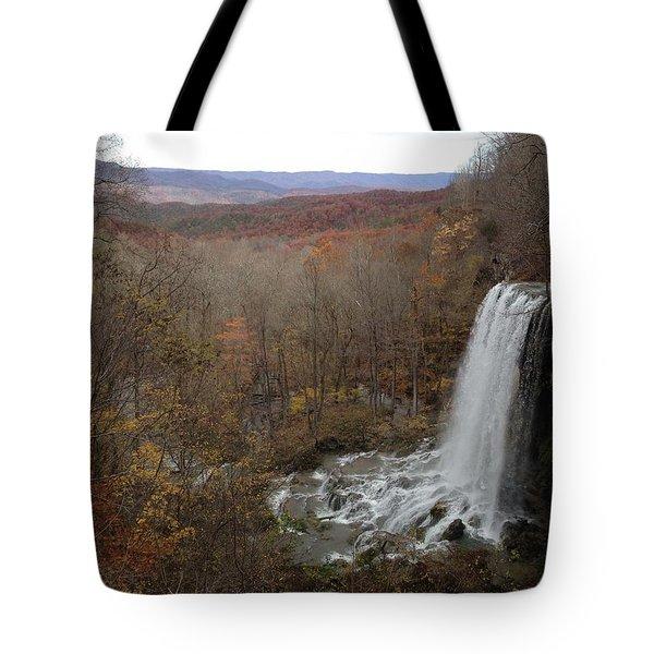 Falling Spring Falls, Va Tote Bag