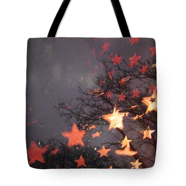 Falling Stars And I Wish.... Tote Bag