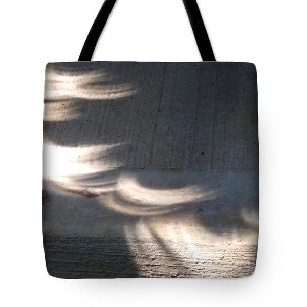 Falling Sunlight Tote Bag