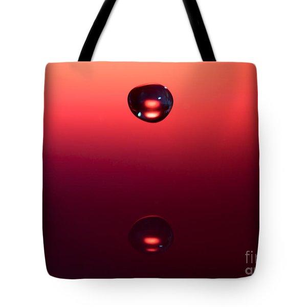 Falling Towards Myself Tote Bag